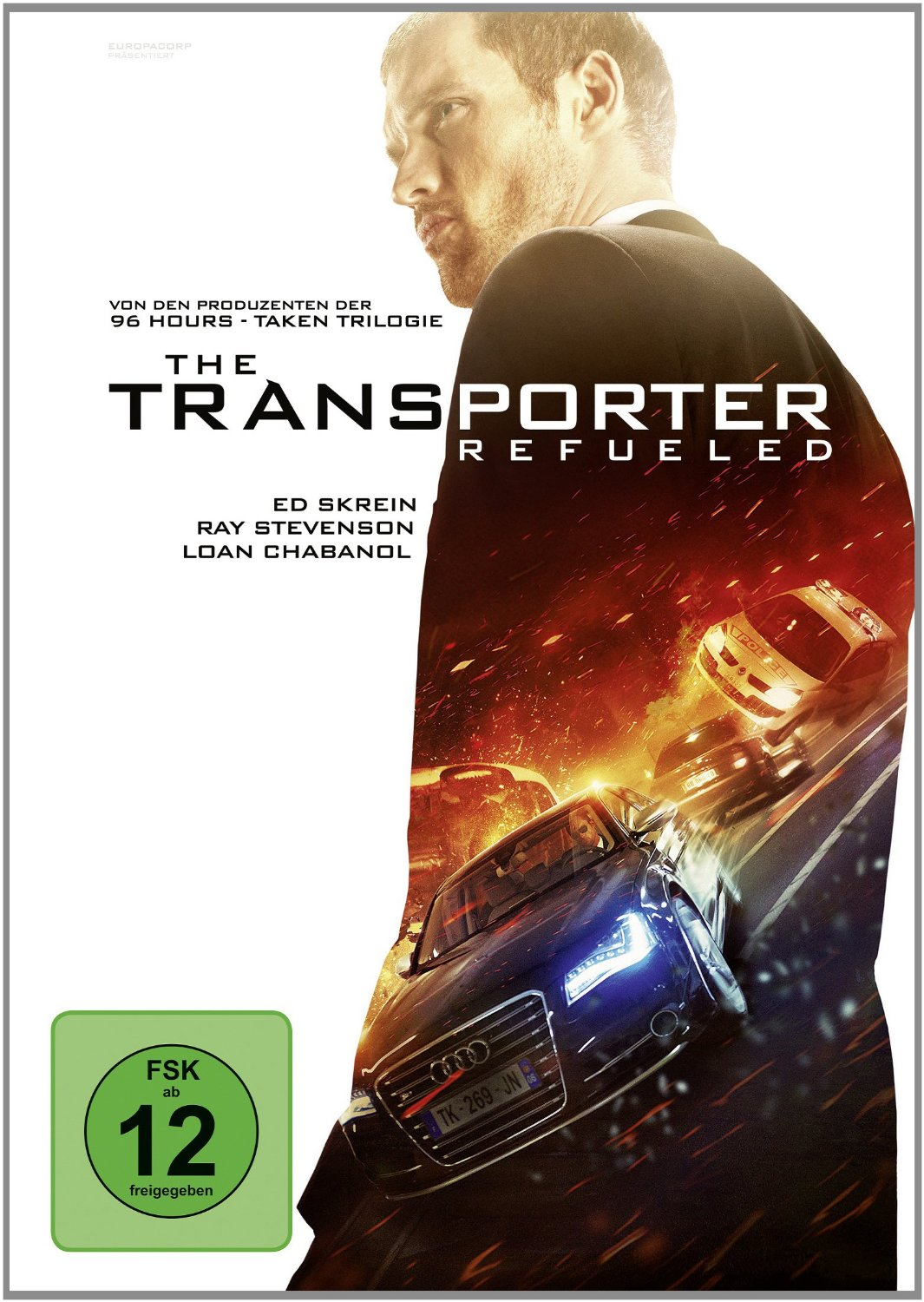 DVD-Cover von The Transporter Refueled
