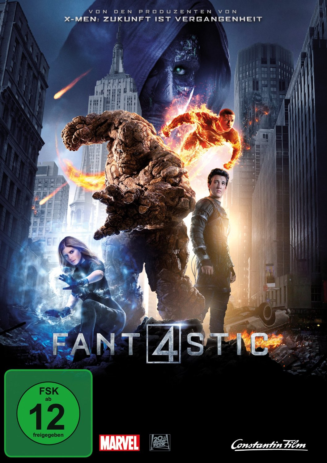 DVD-Cover von The Fantastic Four
