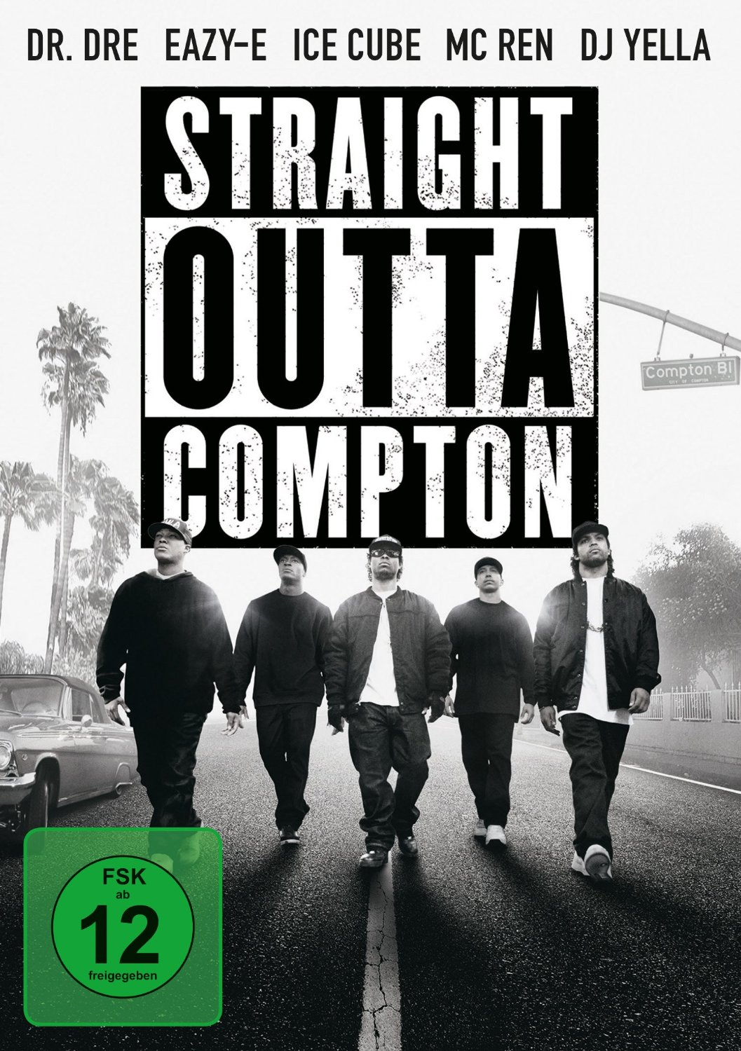 DVD-Cover von Straight Outta Compton
