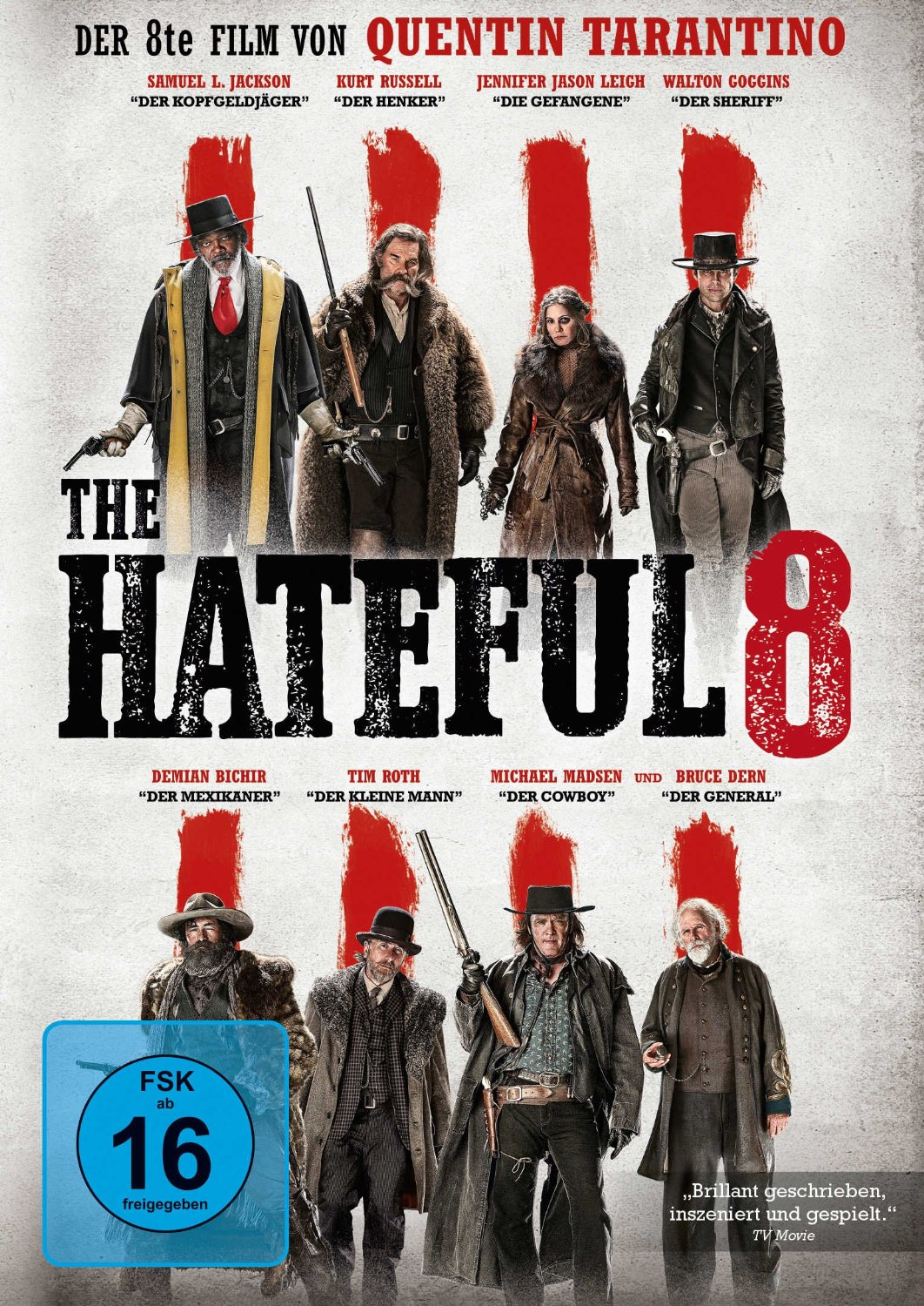 DVD-Cover von The Hateful Eight