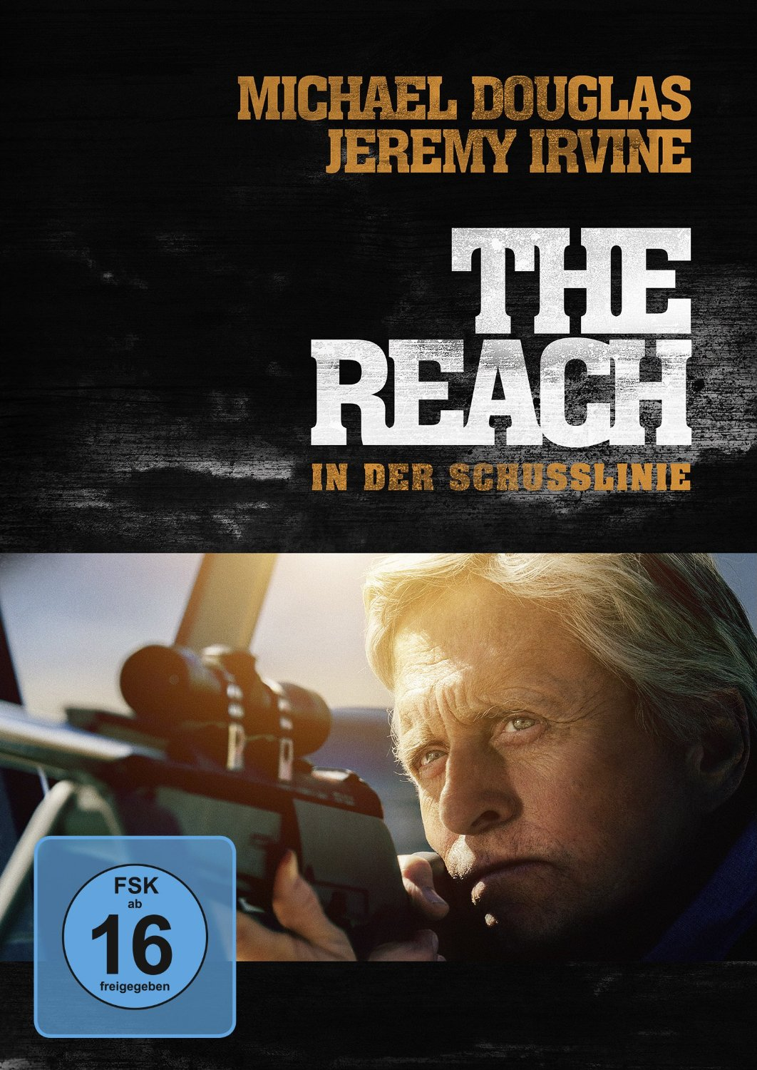 DVD-Cover von The Reach - in der Schusslinie