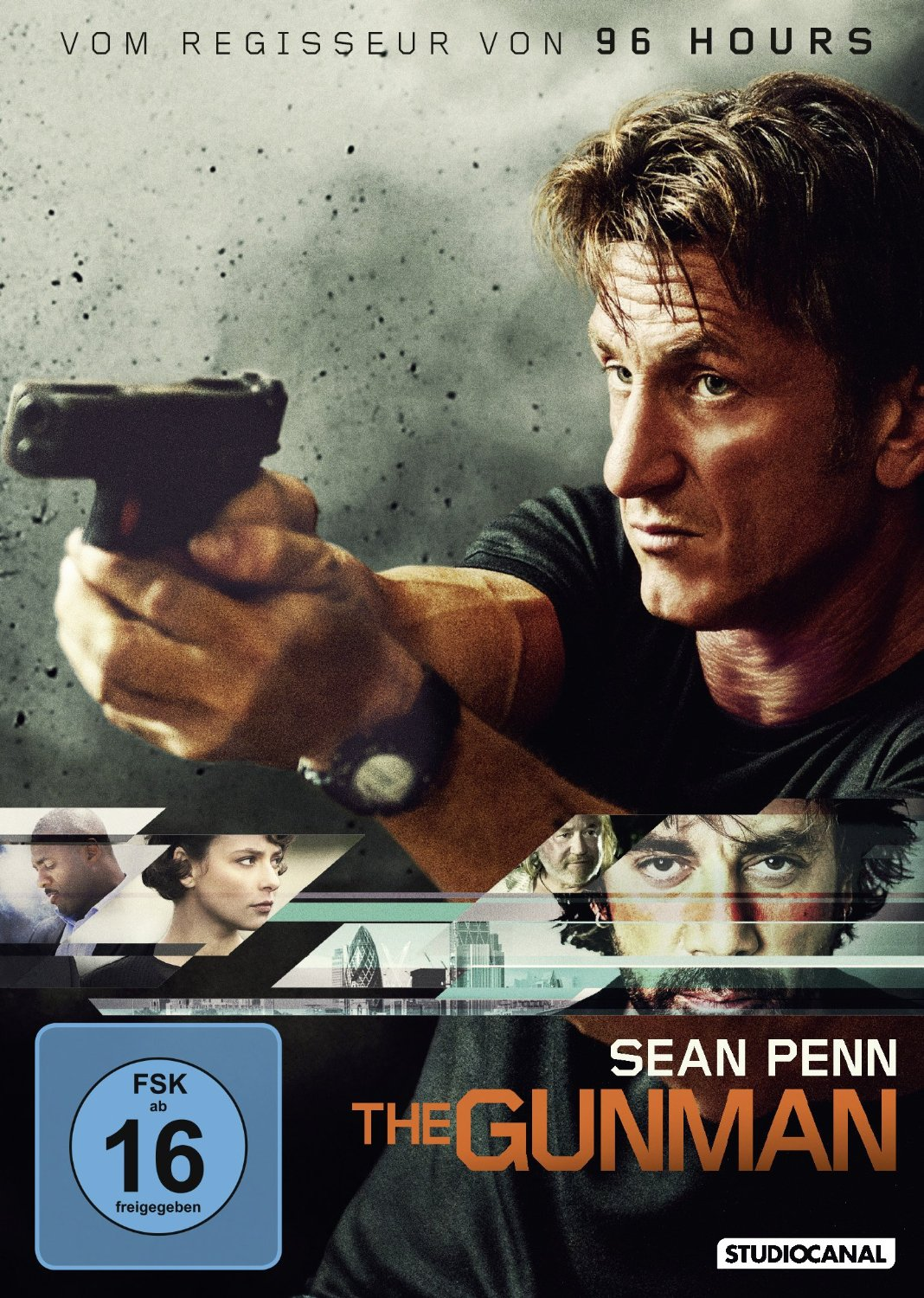 DVD-Cover von The Gunman