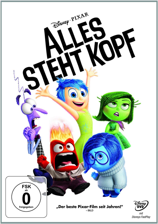 DVD-Cover von Alles steht Kopf