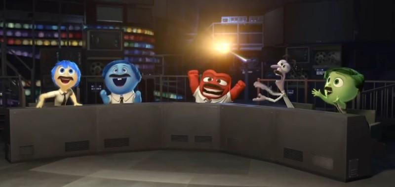 Alles steht Kopf - Film, Pixar