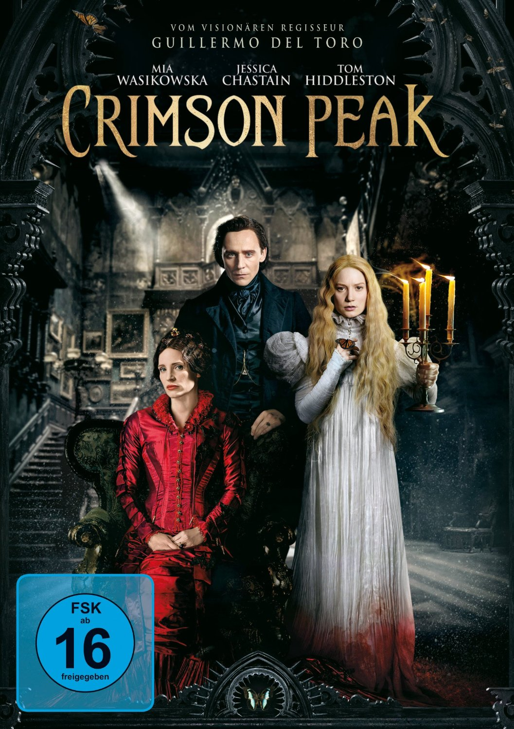 DVD-Cover von Crimson Peak