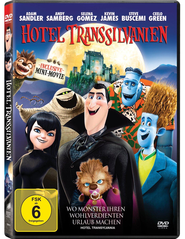 DVD-Cover von Hotel Transsilvanien 2
