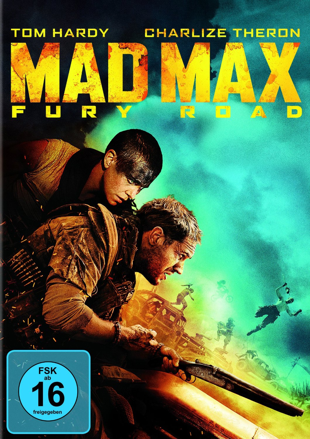 DVD-Cover von Mad Max: Fury Road