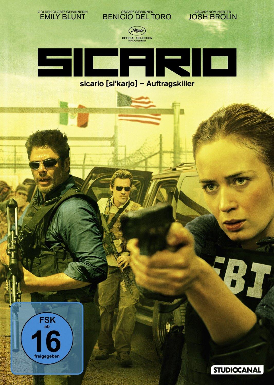 DVD-Cover von Sicario