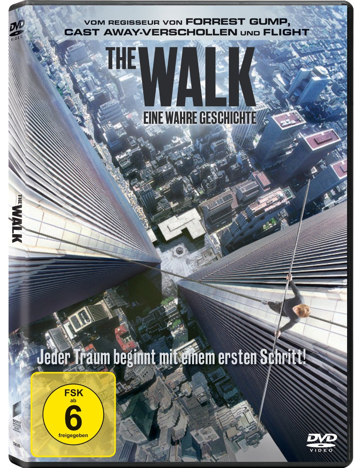 DVD-Cover von The Walk