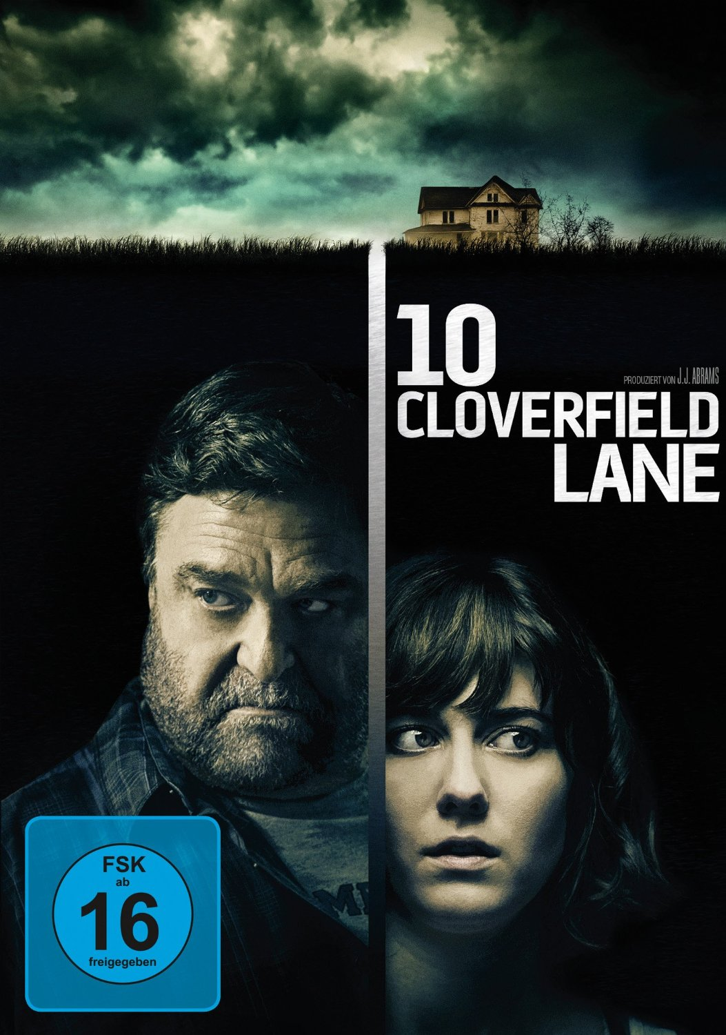 DVD-Cover von 10 Cloverfield Lane