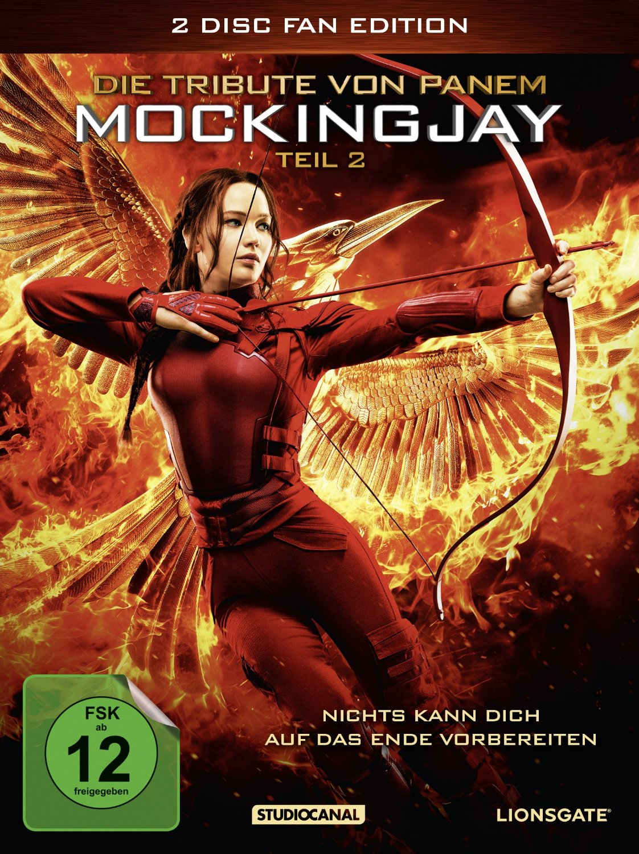 DVD-Cover von Die Tribute von Panem Mockingjay Teil 2