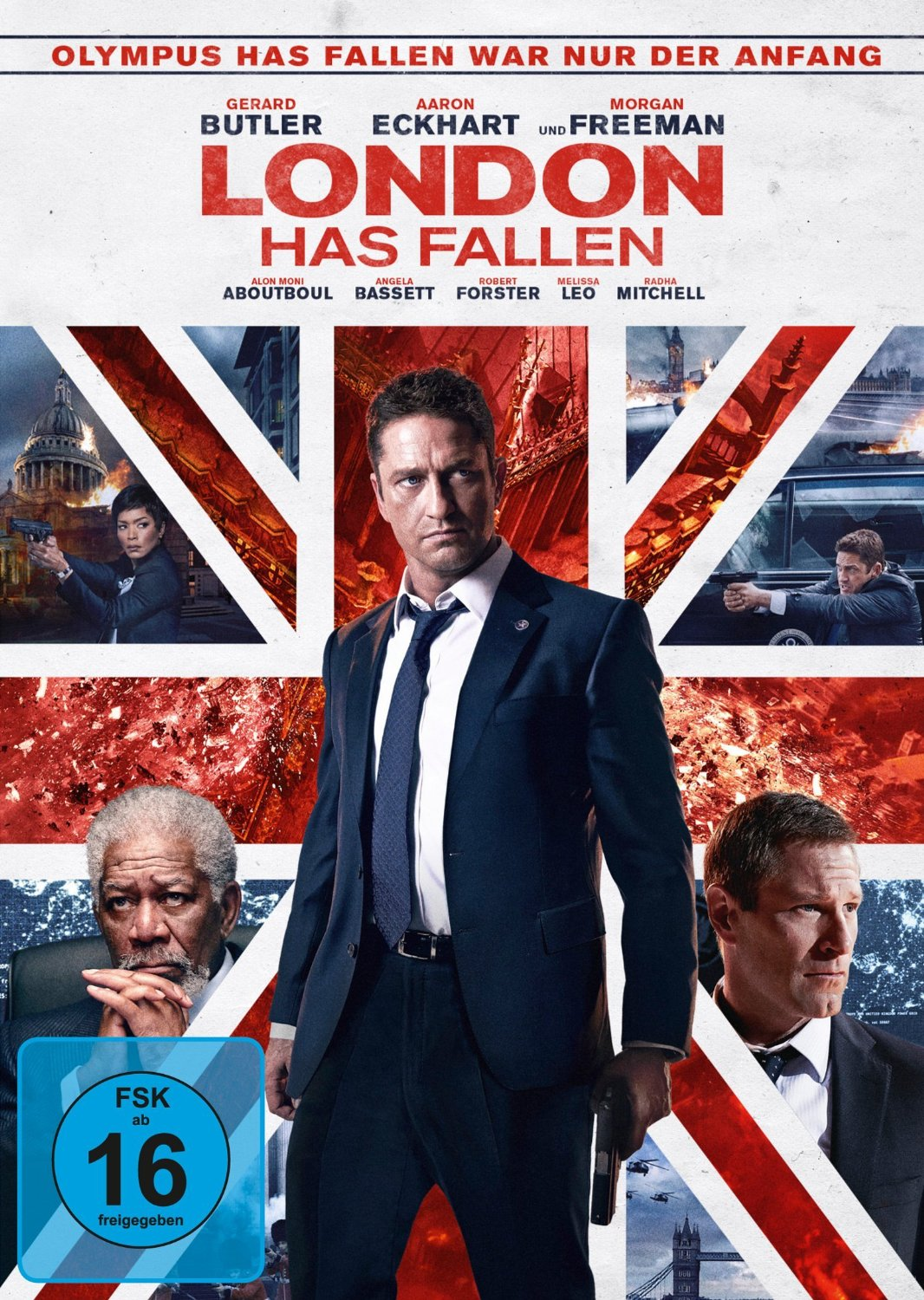 DVD-Cover von London Has Fallen