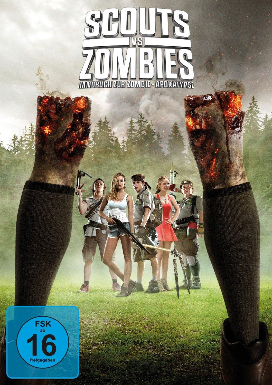 DVD-Cover von Scouts vs. Zombies - Handbuch zur Zombie-Apokalypse
