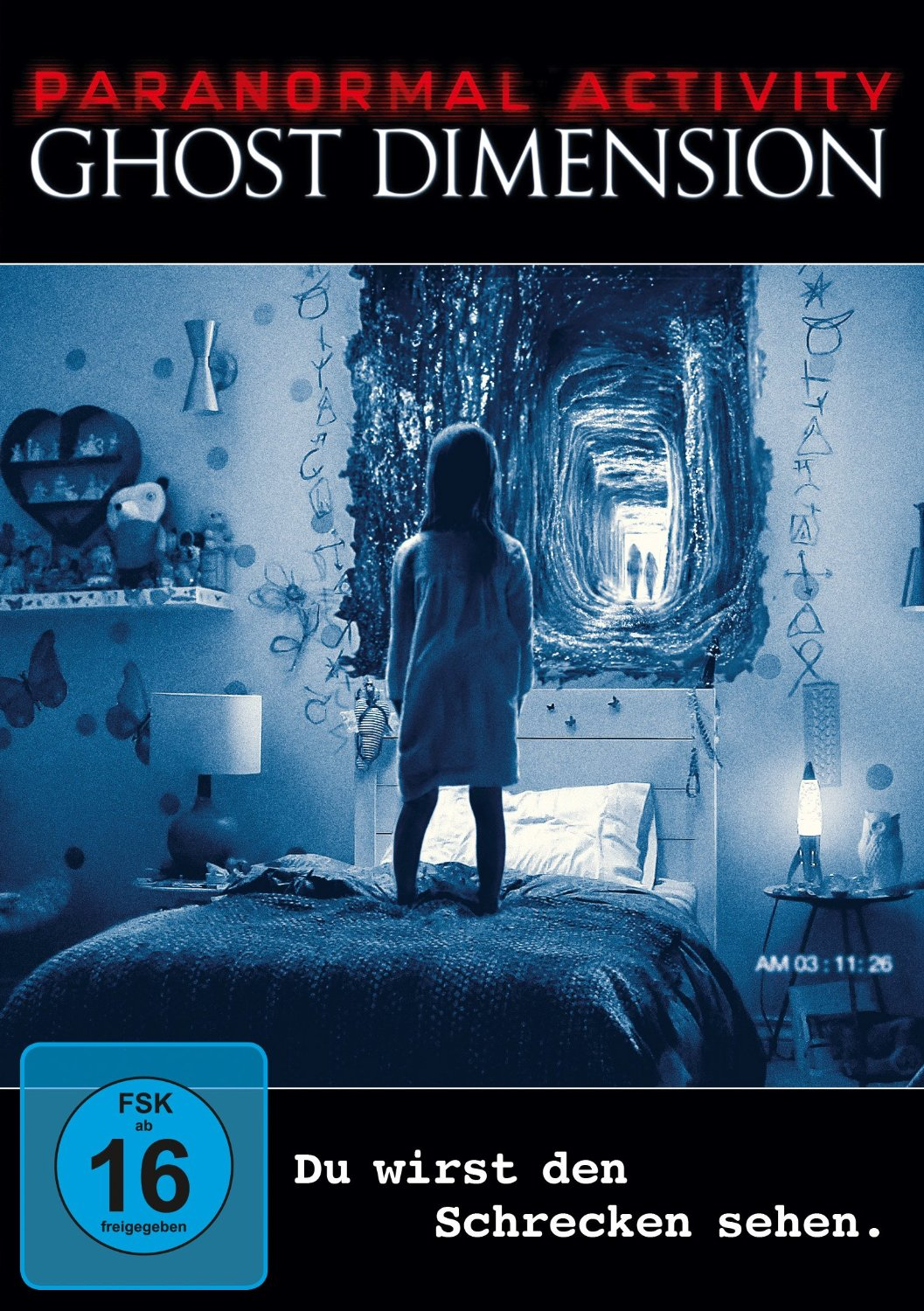 DVD-Cover von Paranormal Activity - Ghost Dimension