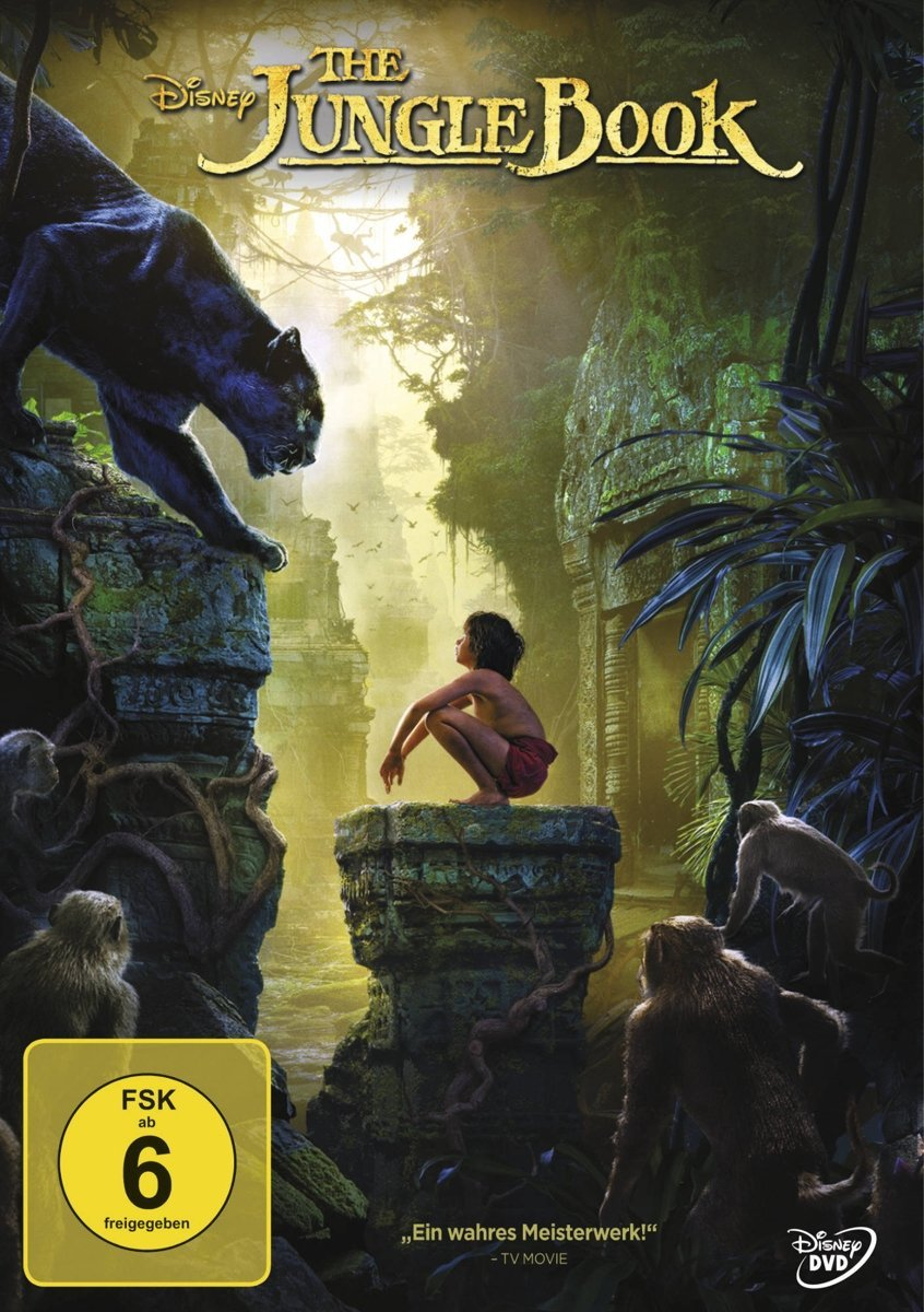 DVD-Cover von The Jungle Book