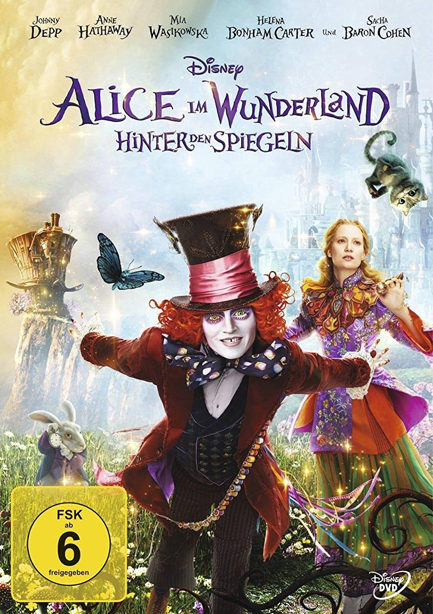 DVD-Cover von Alice im Wunderland: Hinter den Spiegeln