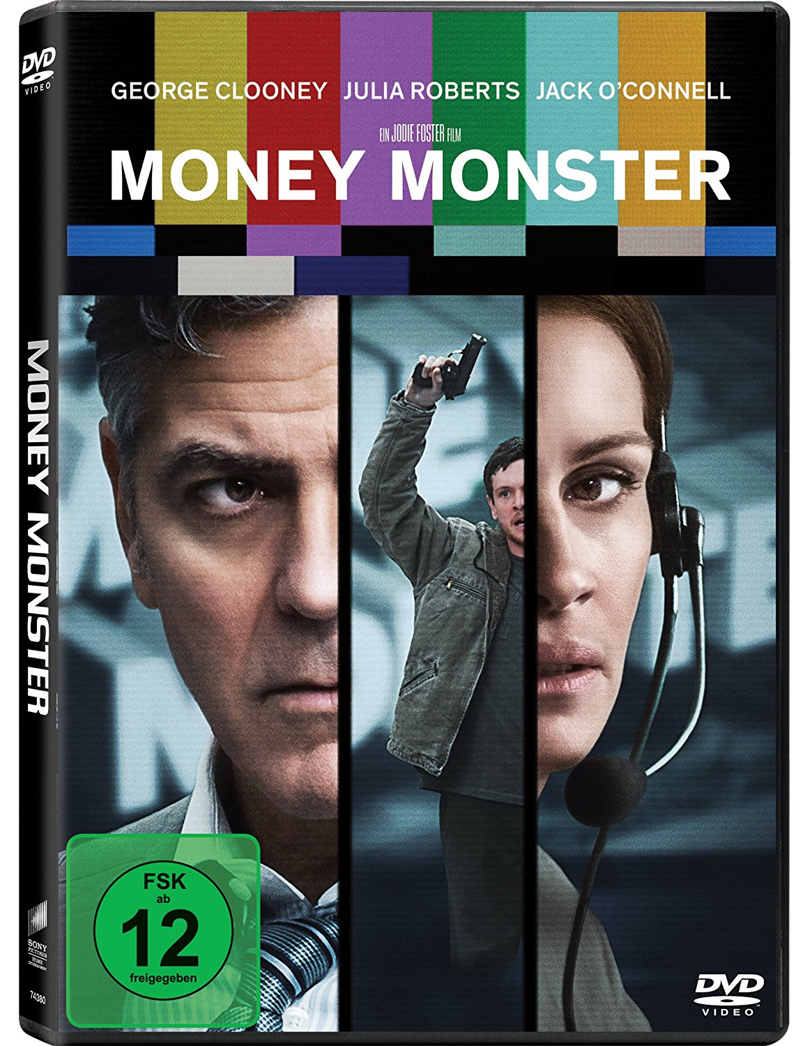 DVD-Cover von Money Monster