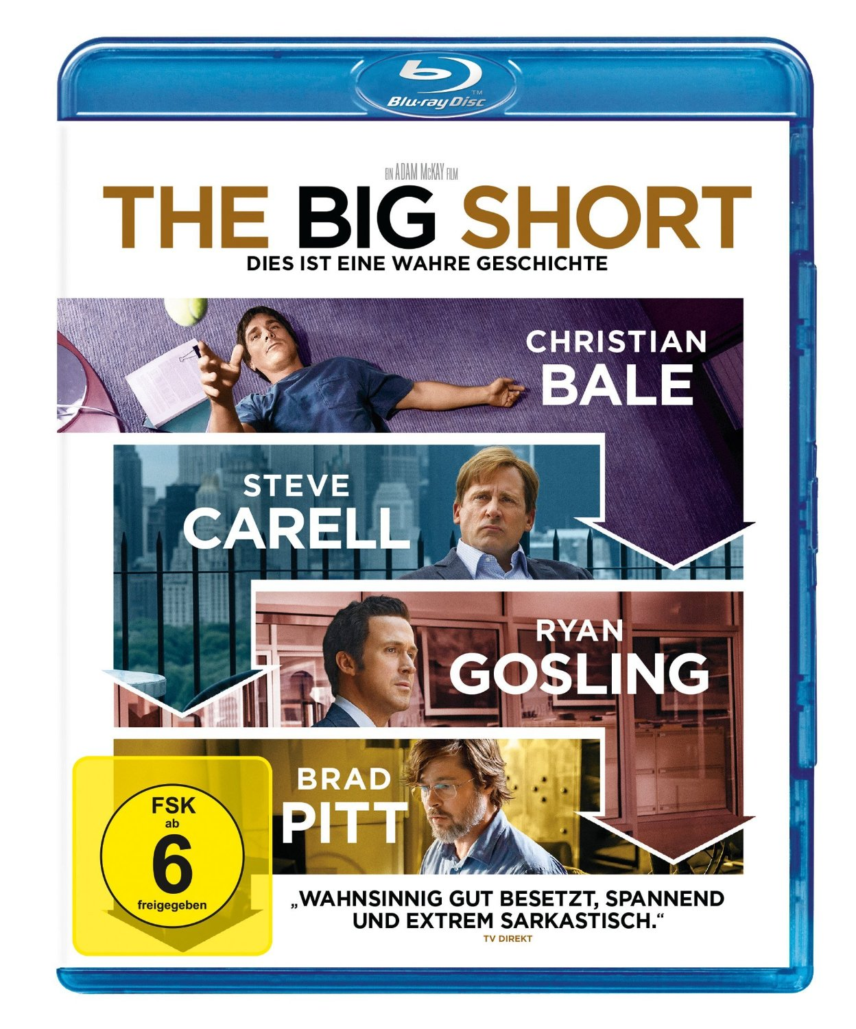 DVD-Cover von The Big Short