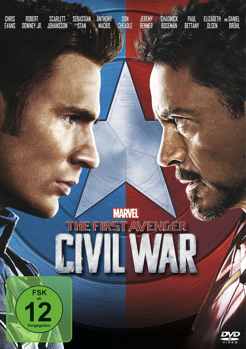 DVD-Cover von The First Avenger: Civil War