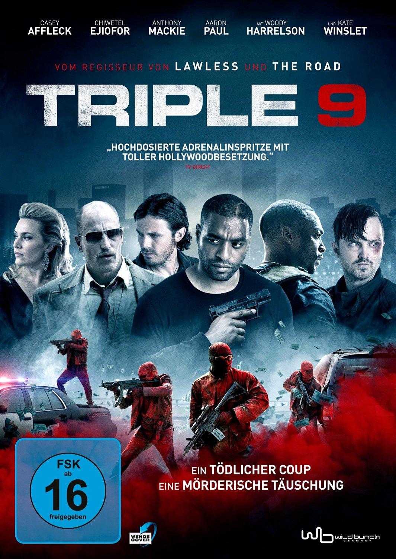 DVD-Cover von Triple 9