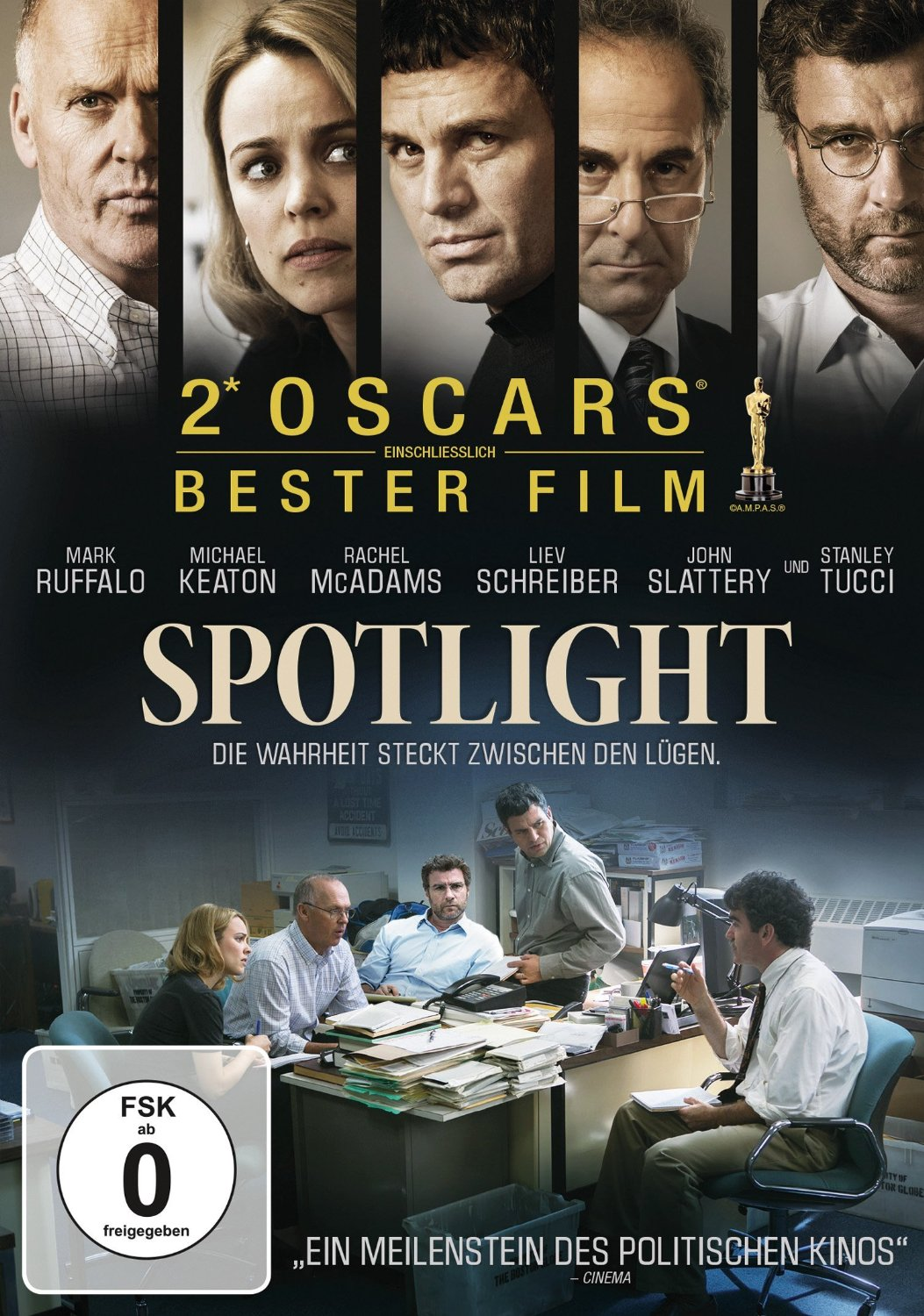 DVD-Cover von Spotlight