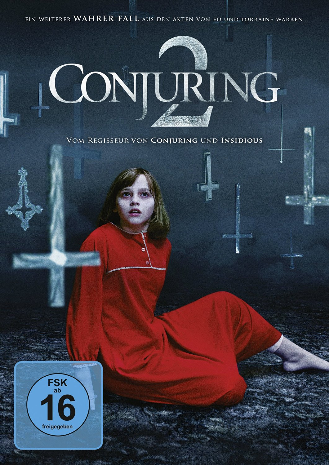 DVD-Cover von The Conjuring 2