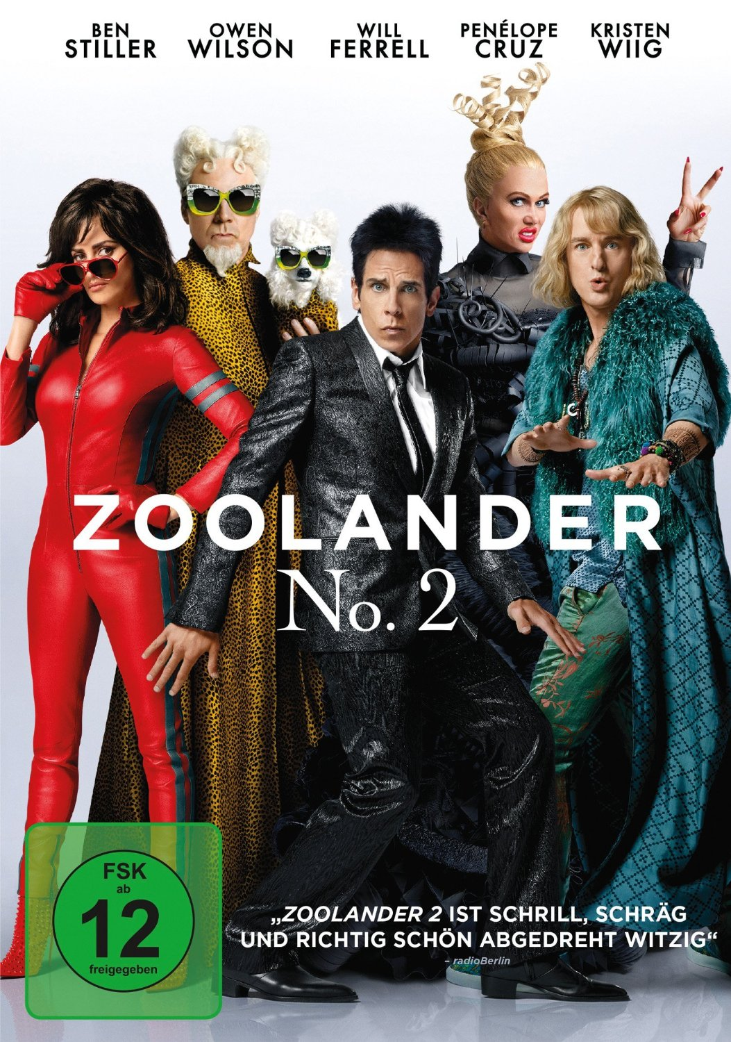 DVD-Cover von Zoolander No. 2