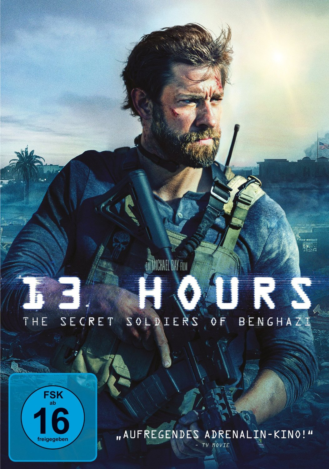 DVD-Cover von 13 Hours - The Secret Soldiers of Benghazi