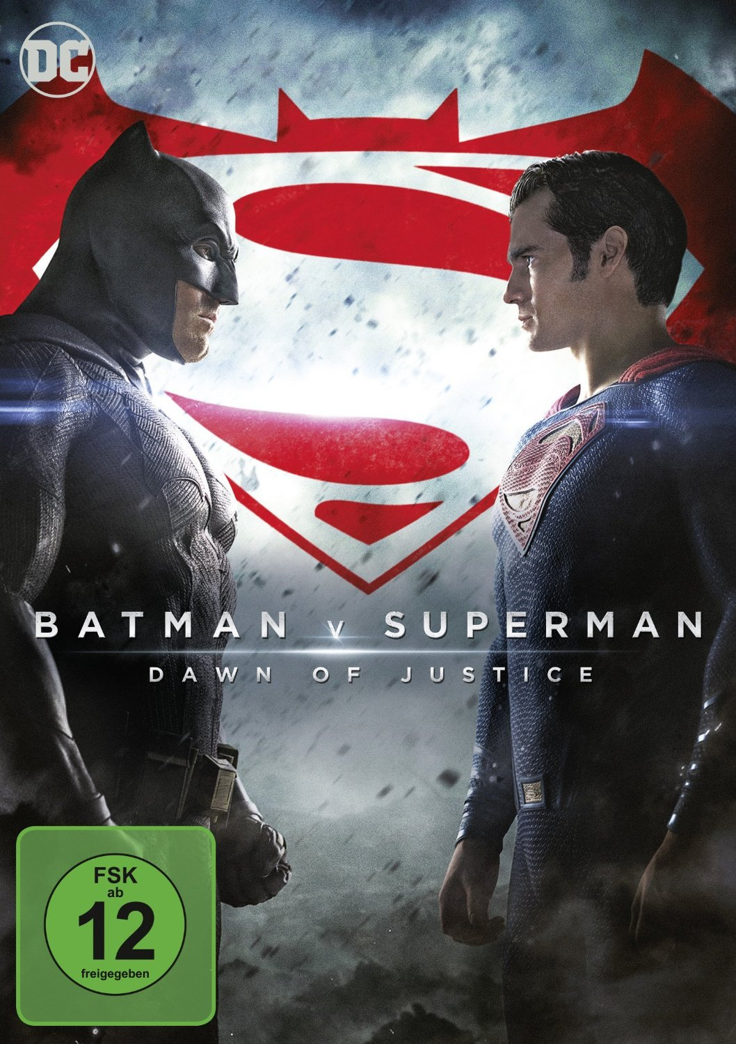 DVD-Cover von Batman v Superman: Dawn of Justice