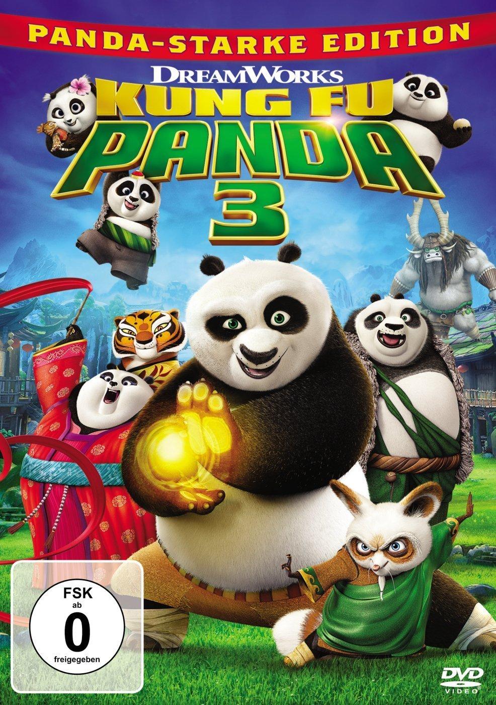 DVD-Cover von Kung Fu Panda 3