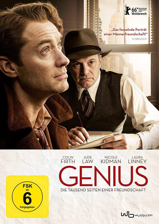 DVD-Cover von Genius - Die tausend Seiten einer Freundschaft