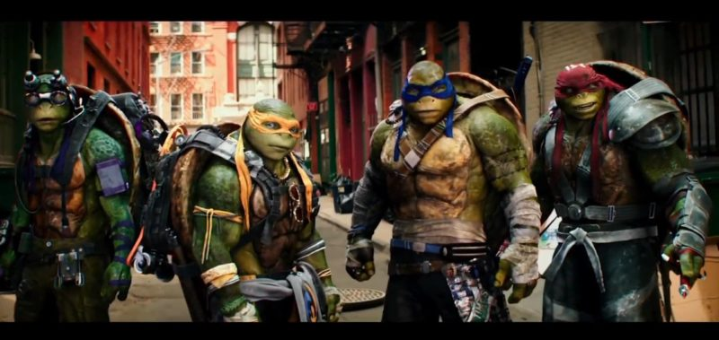 Teenage Mutant Hero Turtles - Out of the Shadows