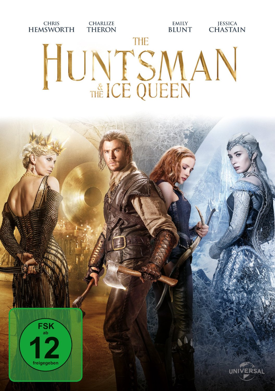 DVD-Cover von The Huntsman & The Ice Queen