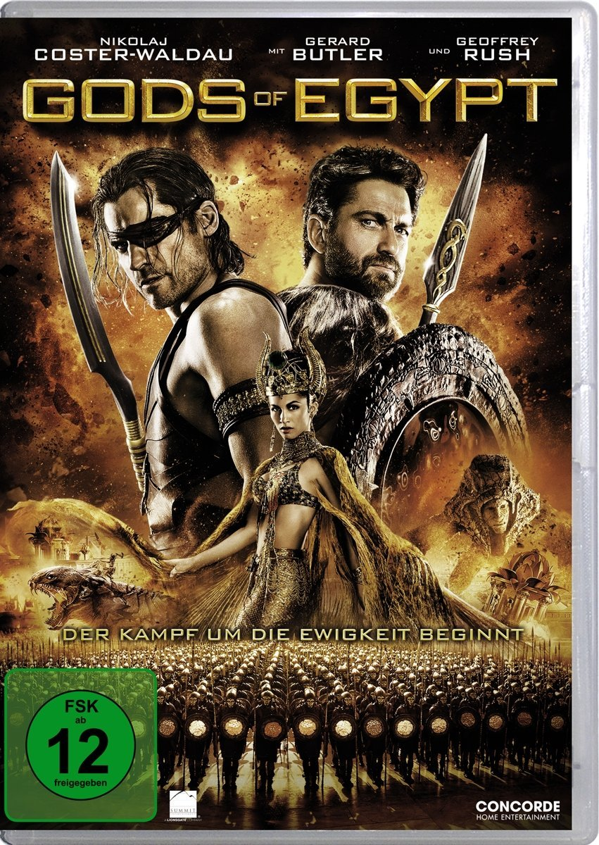 DVD-Cover von Gods of Egypt
