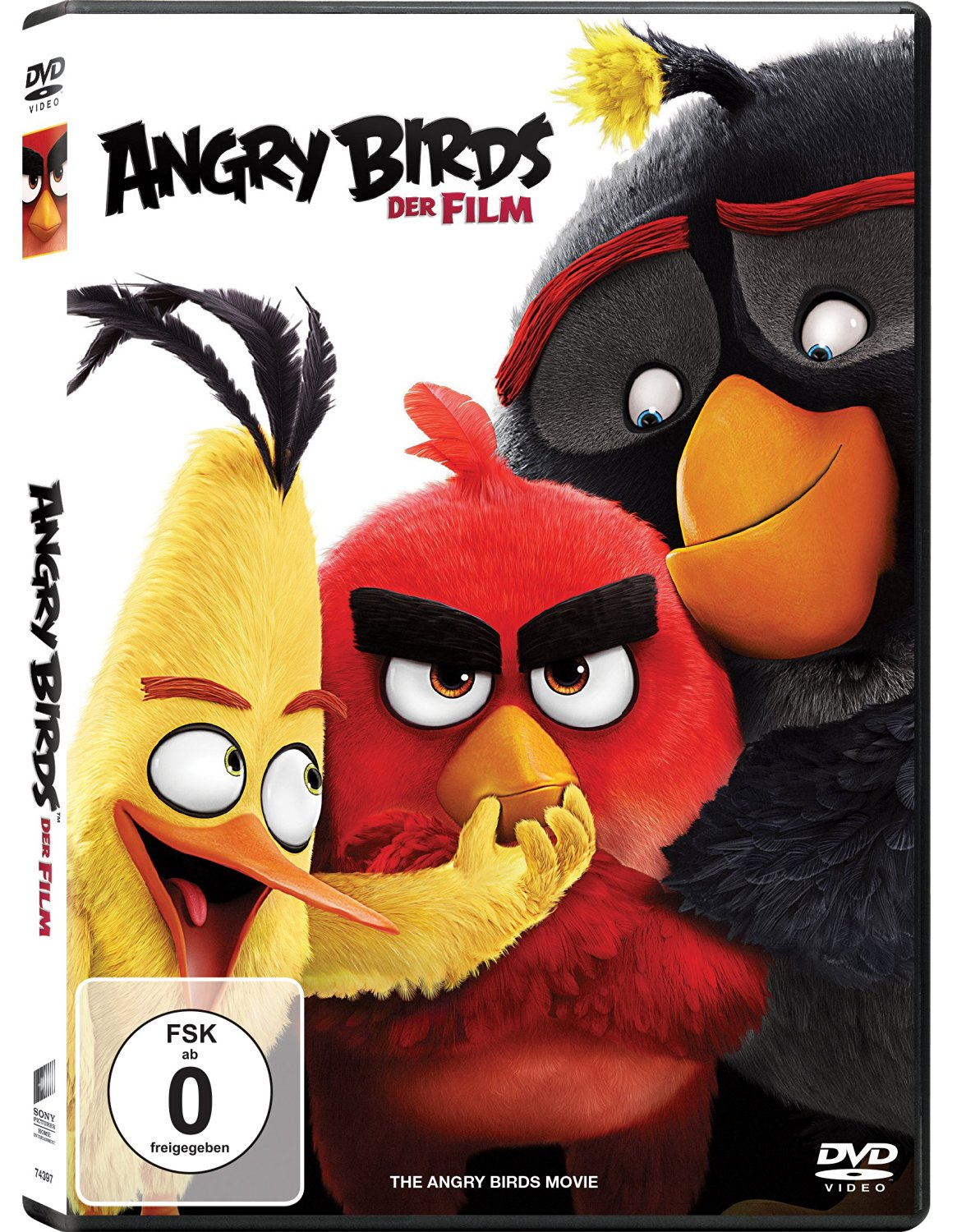 DVD-Cover von Angry Birds - Der Film