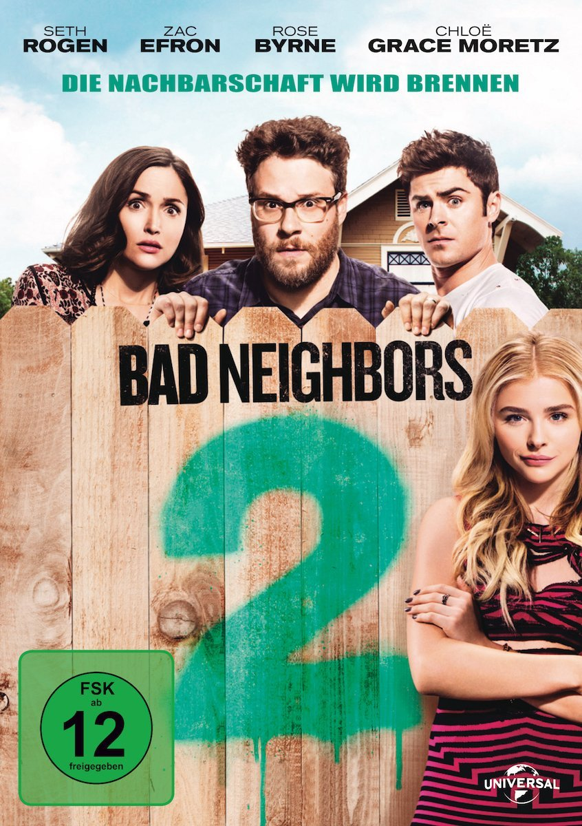 DVD-Cover von Bad Neighbours 2