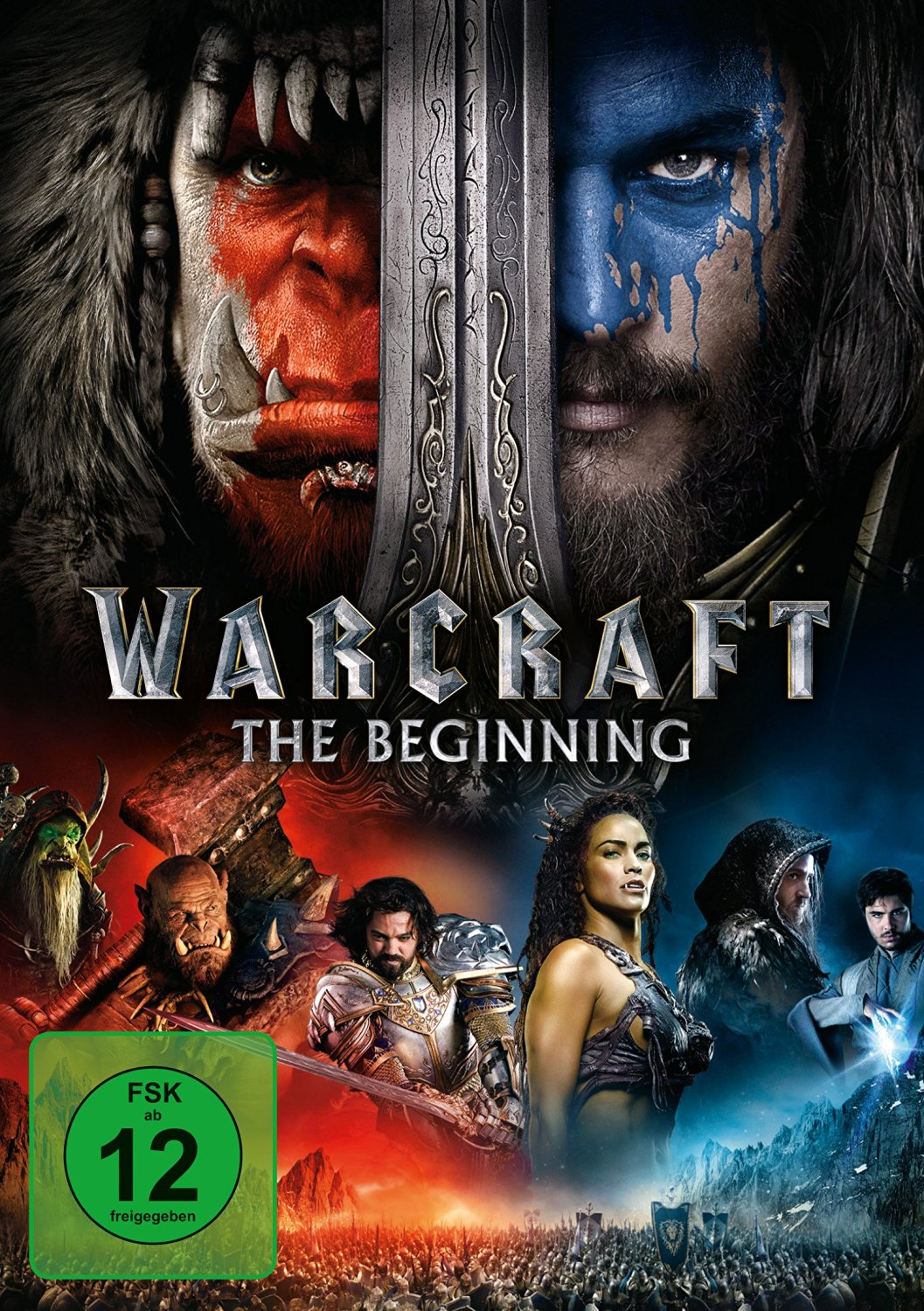 DVD-Cover von Warcraft: The Beginning