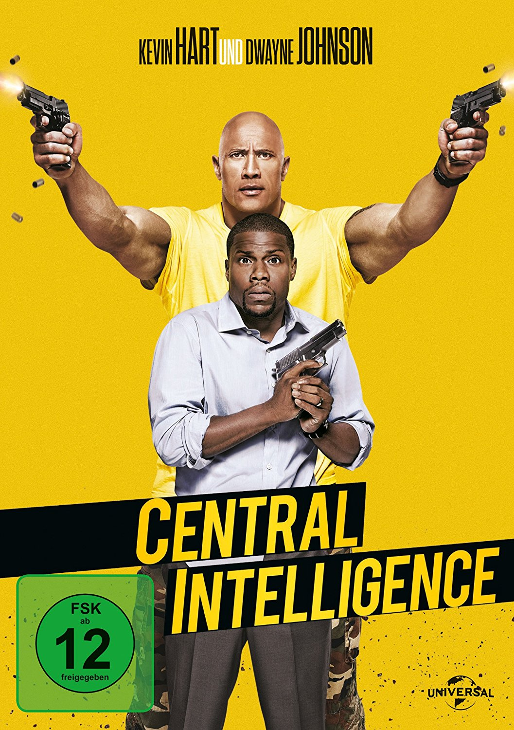 DVD-Cover von Central Intelligence
