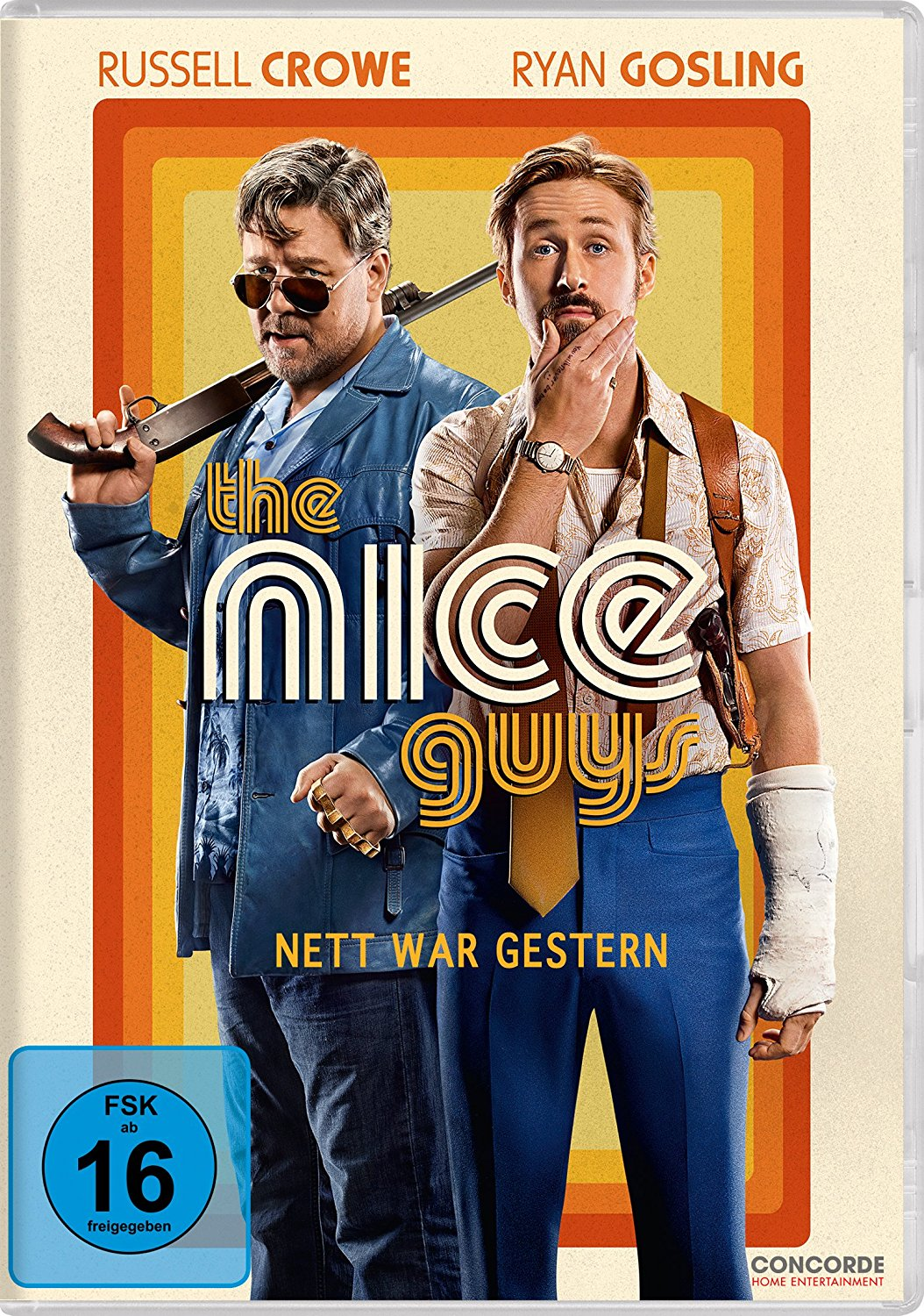 DVD-Cover von The Nice Guys