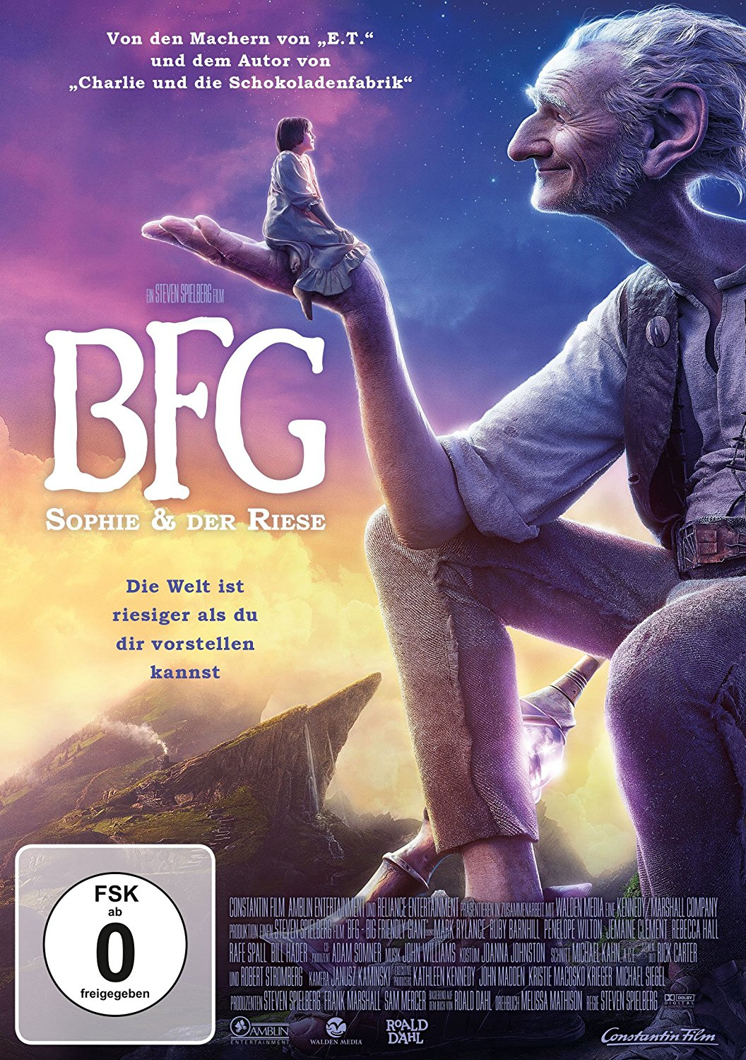 DVD-Cover von BFG - Big Friendly Giant