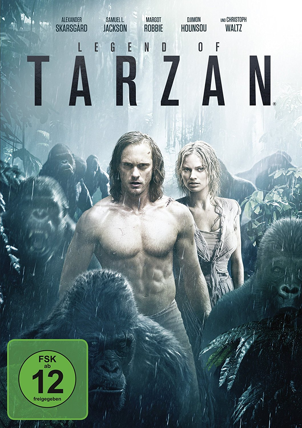 DVD-Cover von Legend of Tarzan