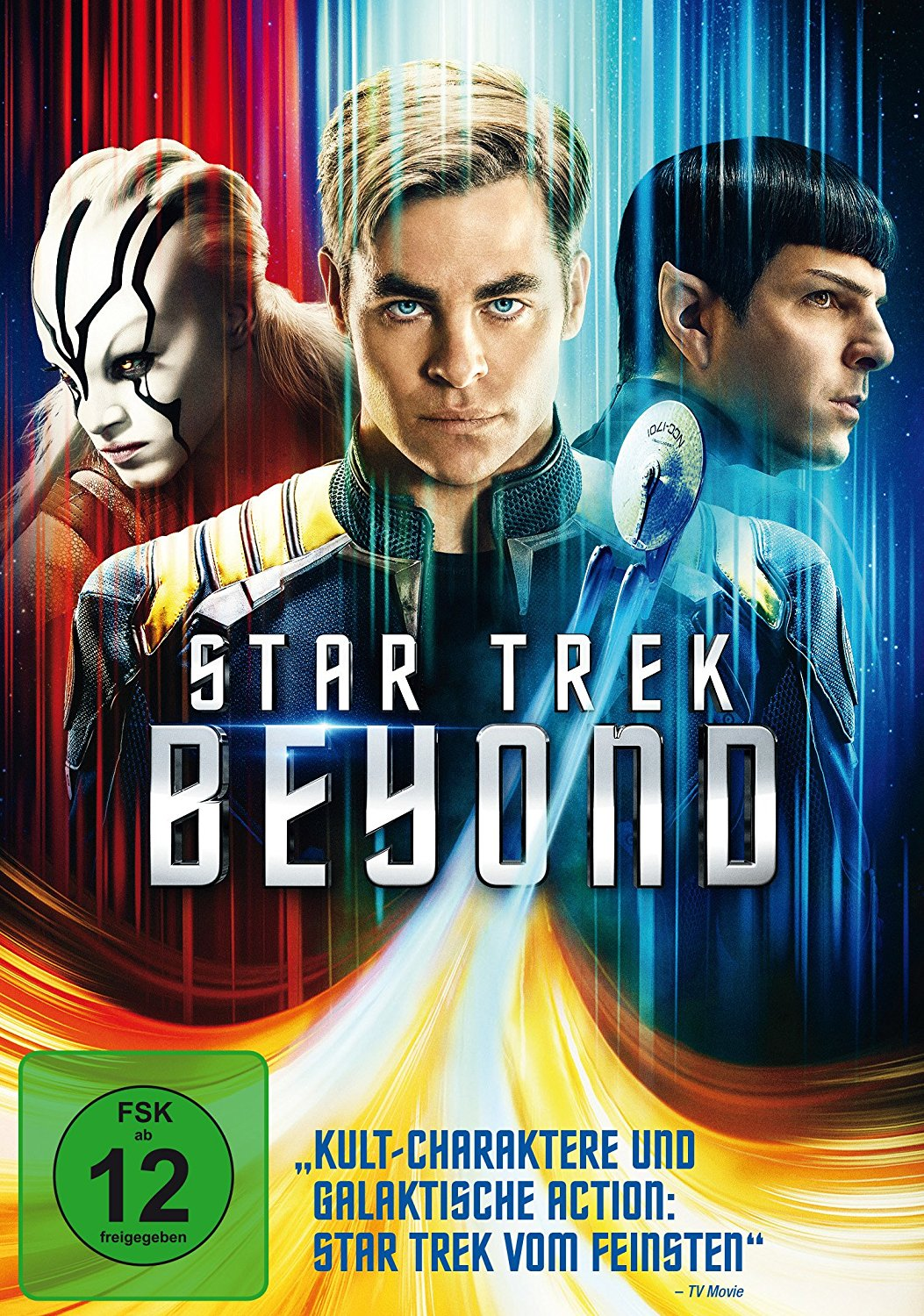DVD-Cover von Star Trek Beyond