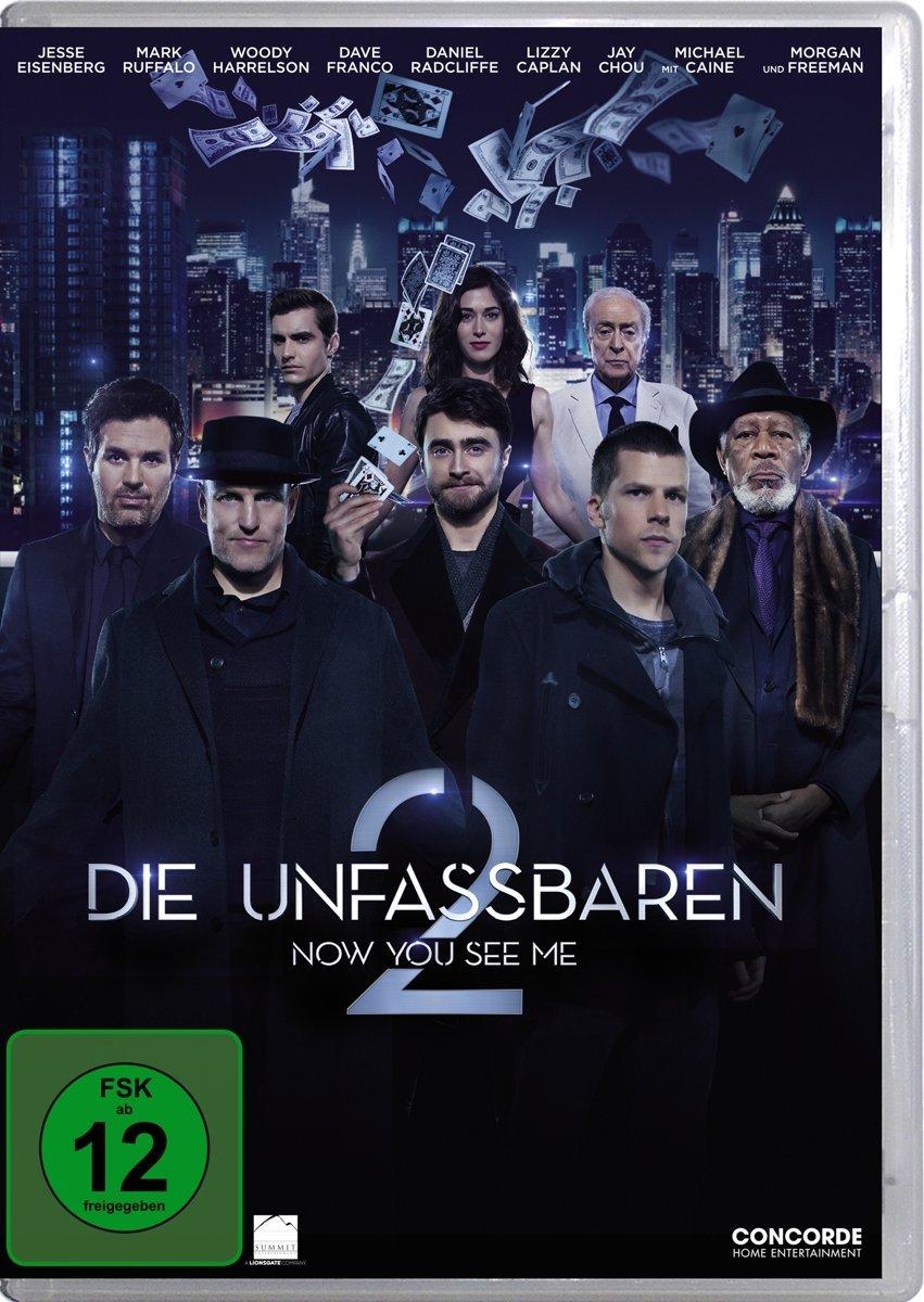DVD-Cover von Die Unfassbaren 2