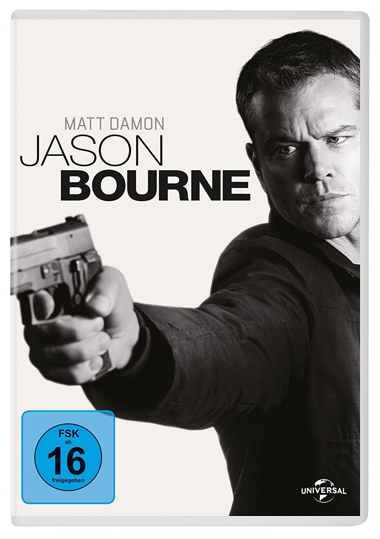 DVD-Cover von Jason Bourne