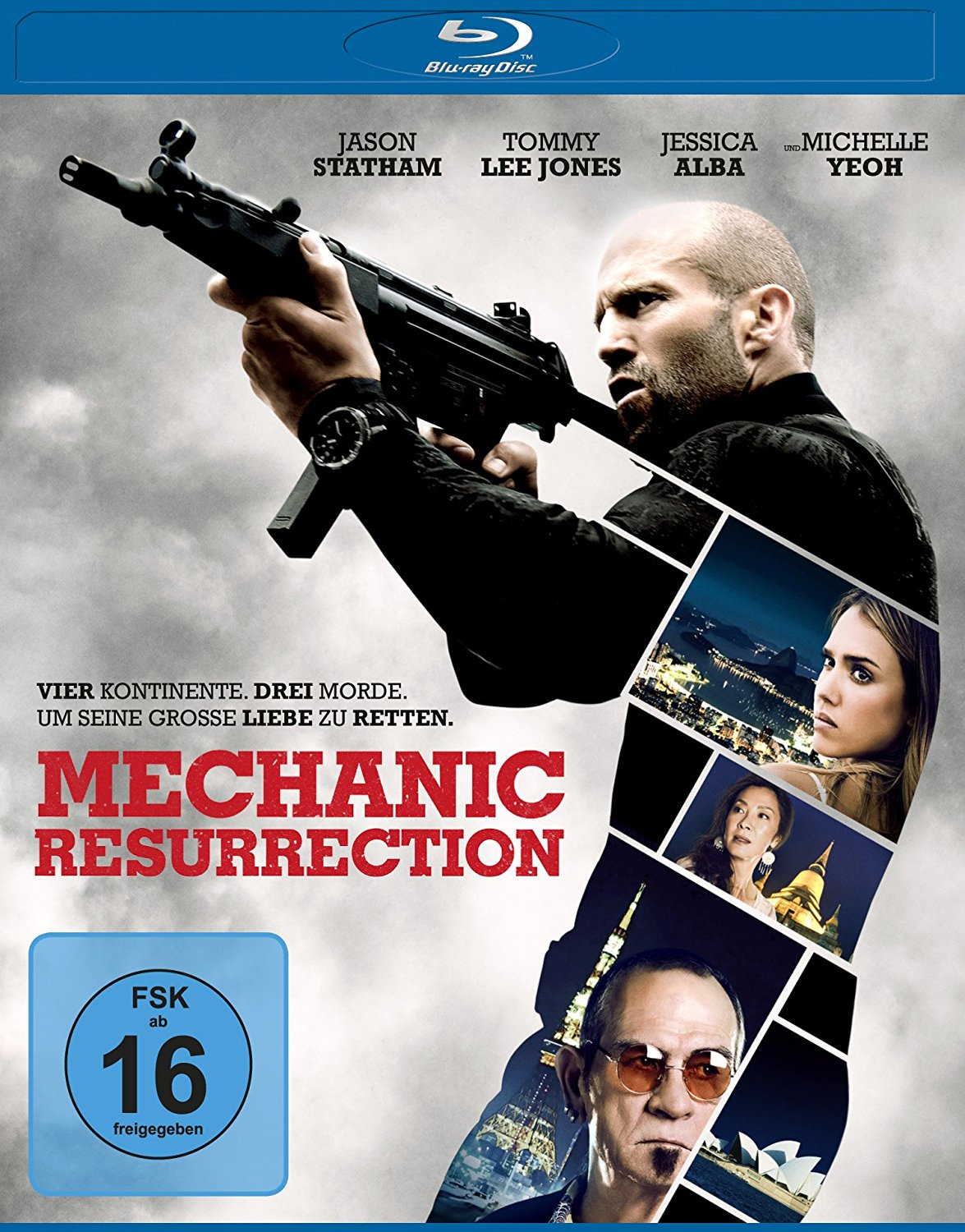 DVD-Cover von The Mechanic: Resurrection
