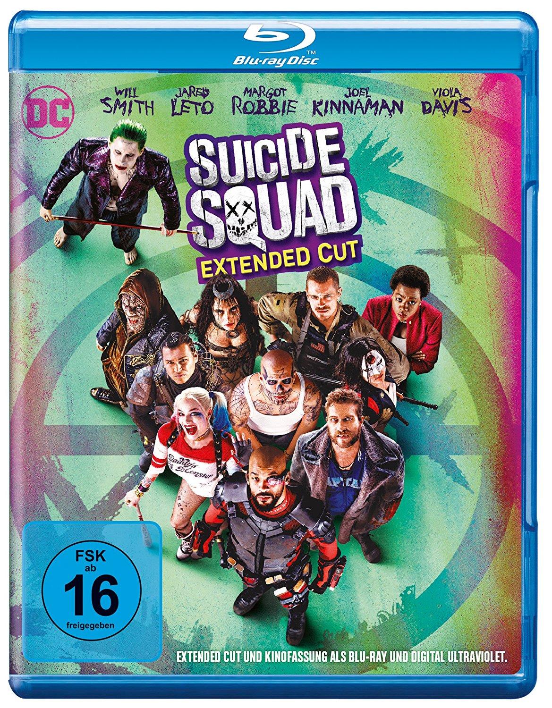 DVD-Cover von Suicide Squad