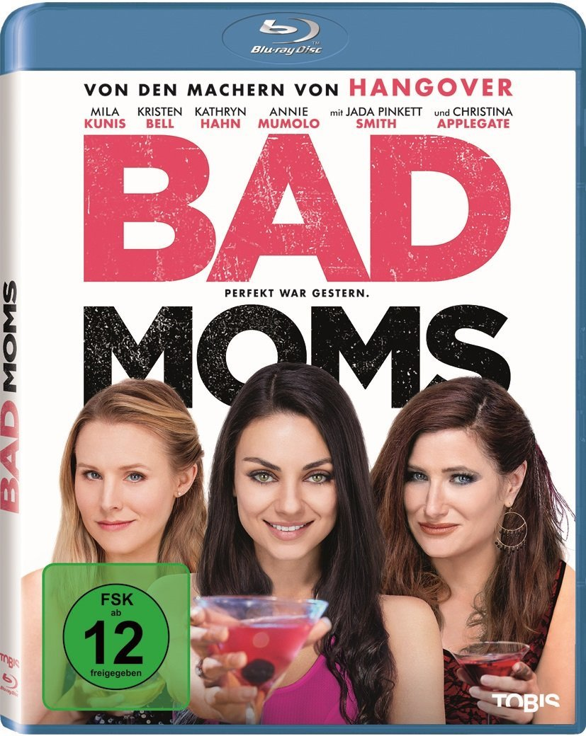 DVD-Cover von Bad Moms