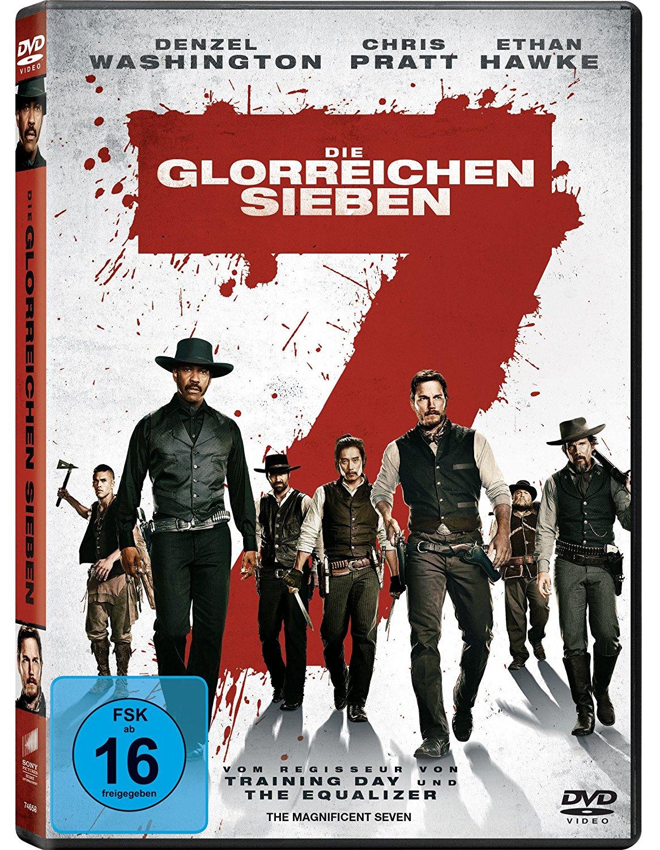 DVD-Cover von Die glorreichen Sieben