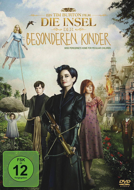 DVD-Cover von Die Insel der besonderen Kinder